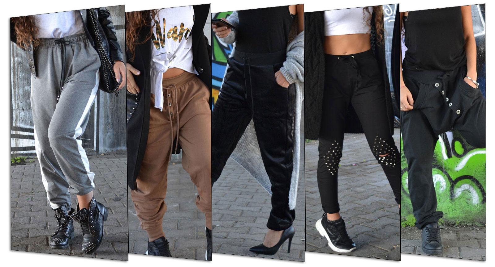 Pantaloni tuta donna