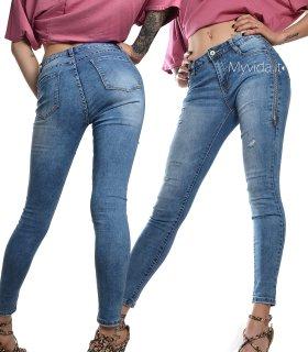 015a23a0af Pantaloni Jeans denim | My Vida