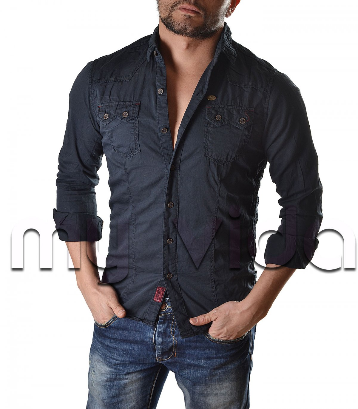 cheap for discount b6b4c 45a83 Camicia uomo casual | My Vida