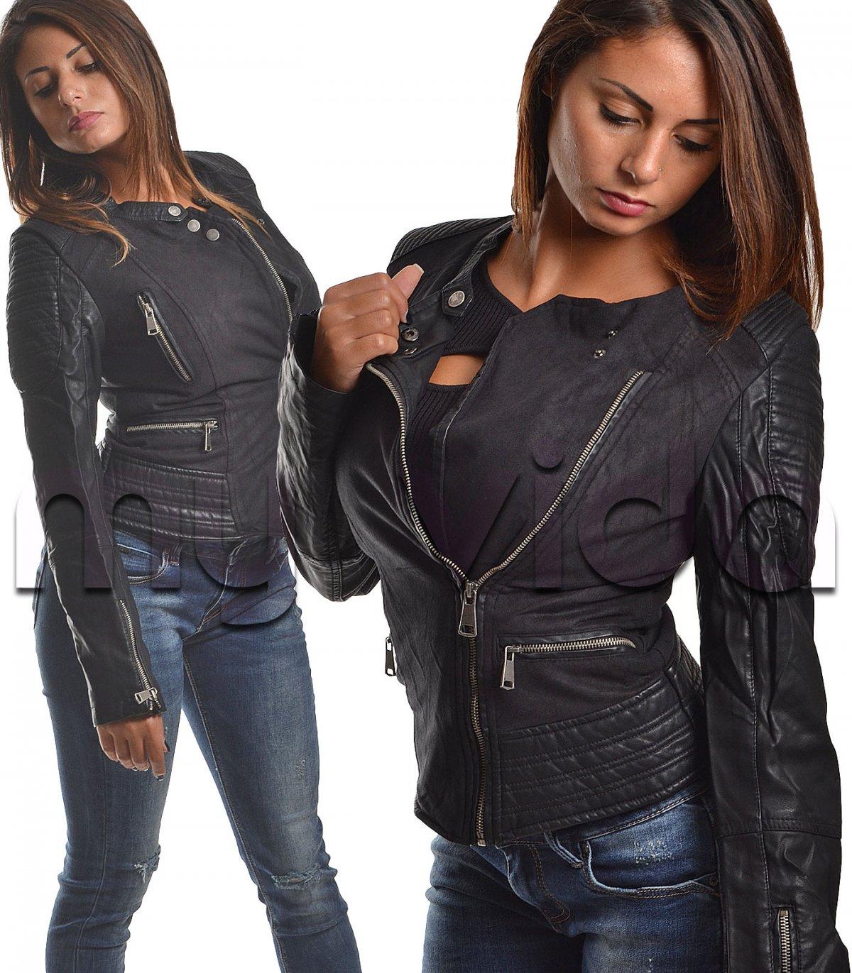 giacca donna similpelle negozi sulla tuscolana