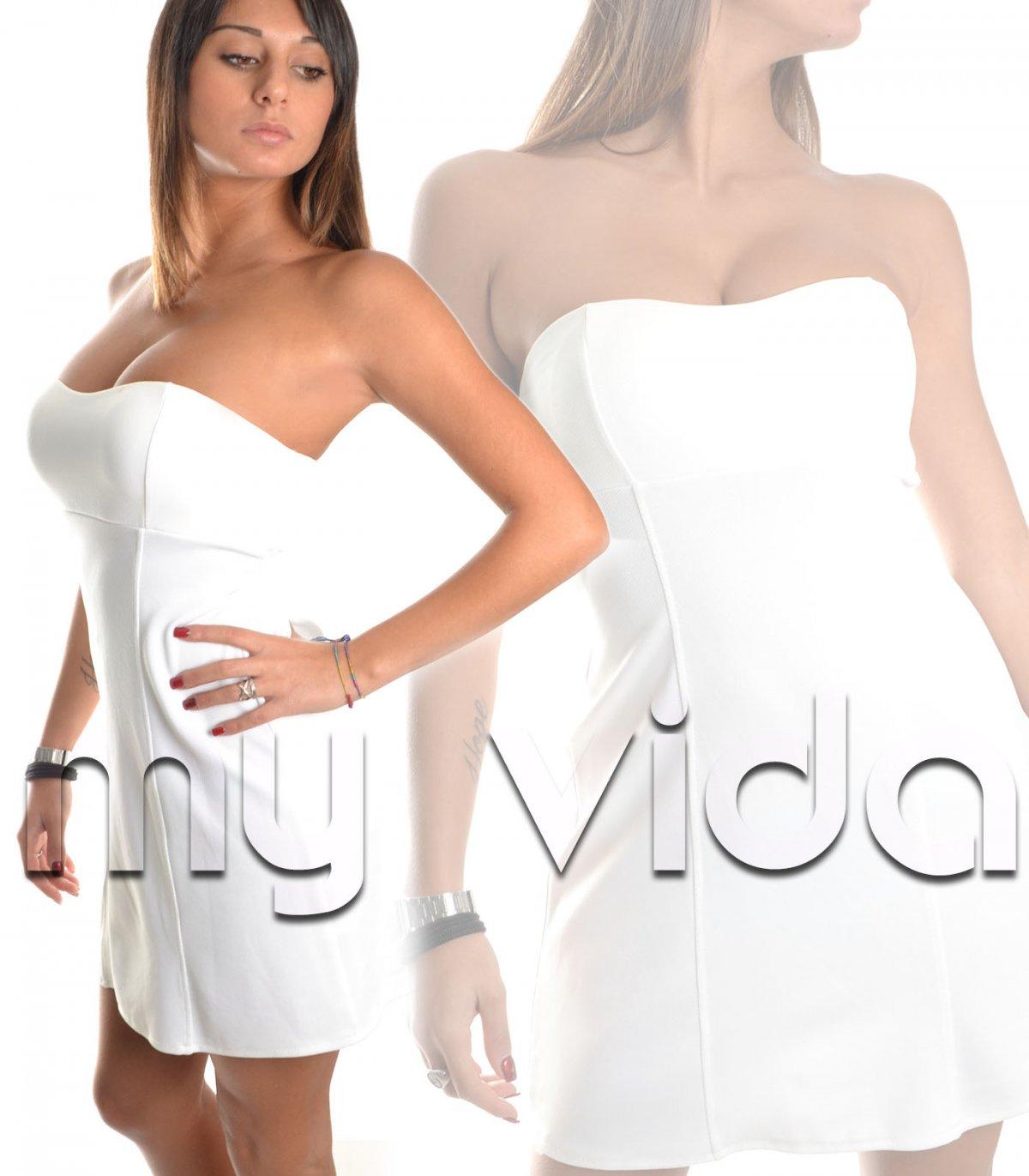 size 40 53199 a8e17 Vestito mini abito corto fascia elegante | My Vida
