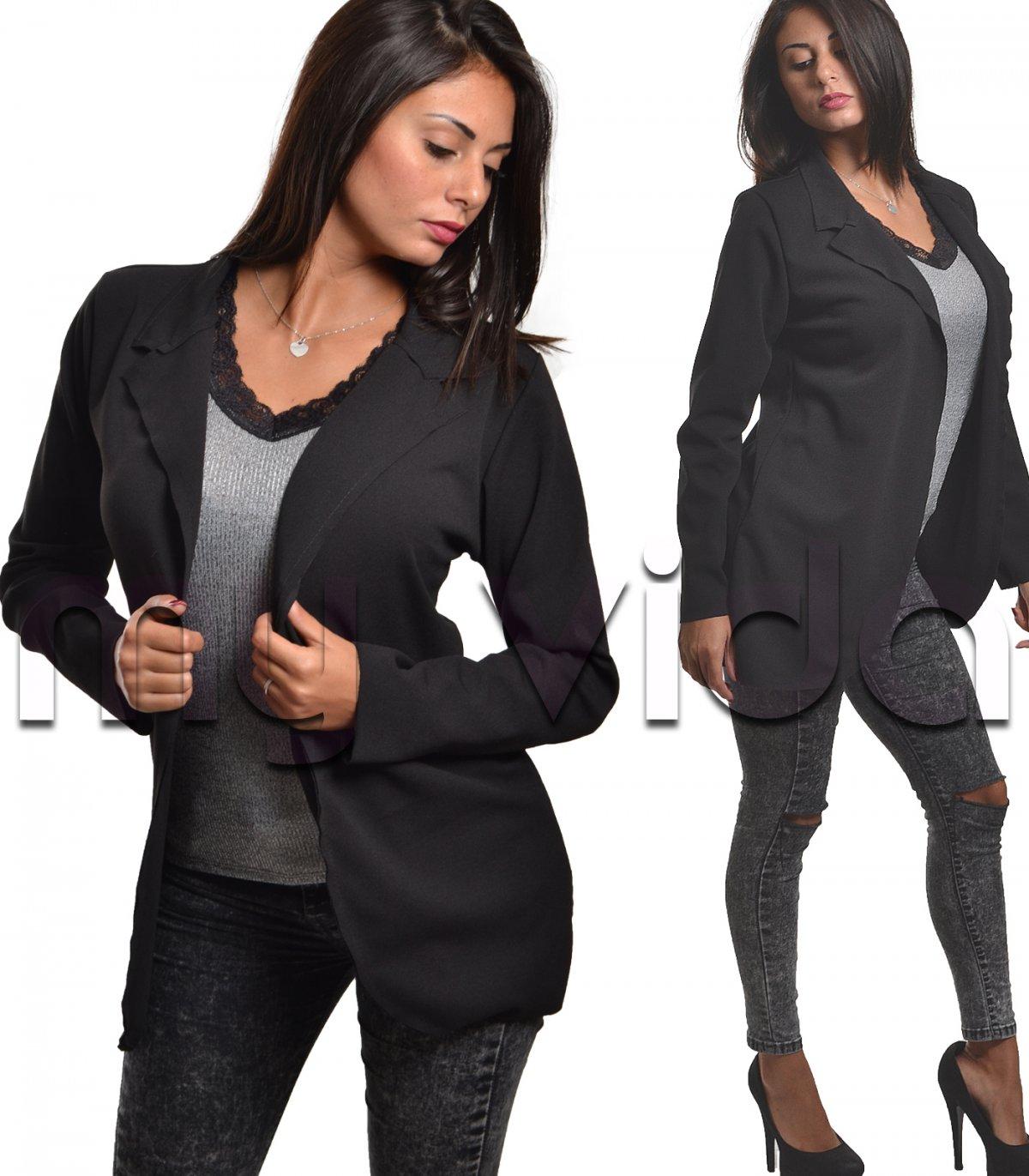 pretty nice 9d0e3 502b9 Blazer giacca donna nero | My Vida