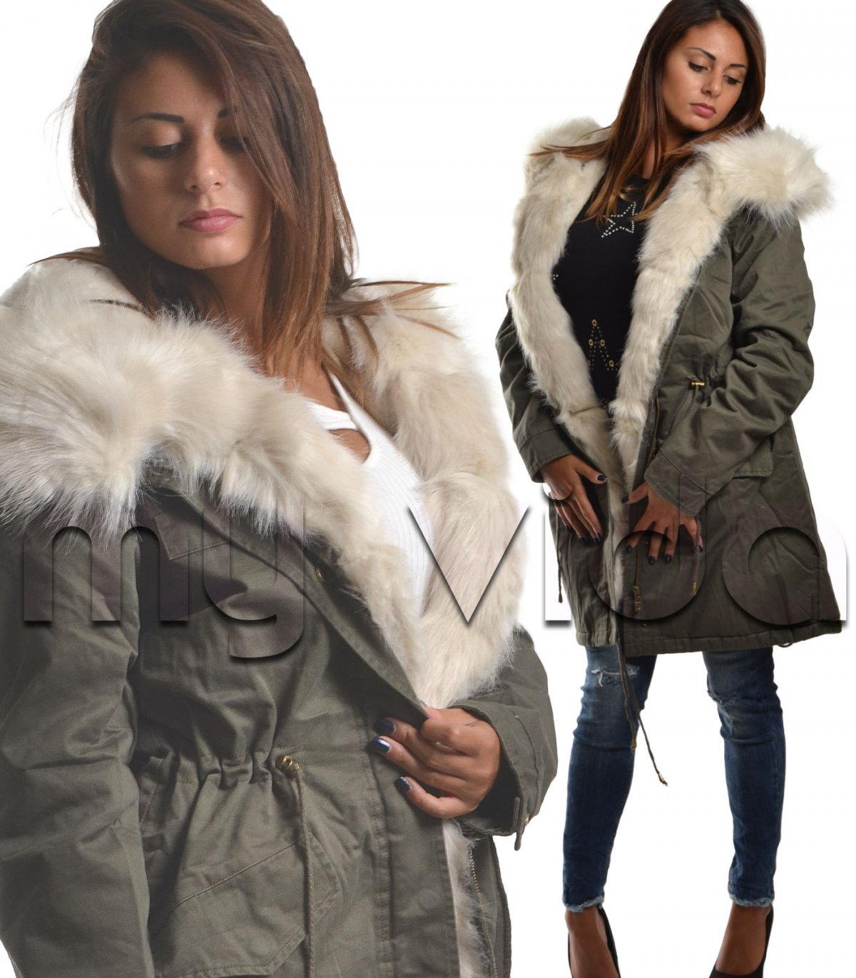huge selection of e6f29 56aff Giubbotti invernali donna parka | My Vida
