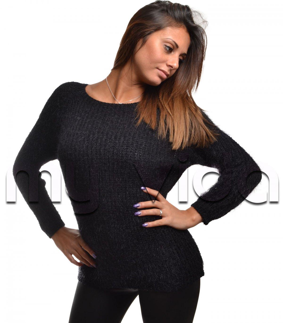 timeless design d6e55 18ac5 Maglione mohair donna pullover lana | My Vida