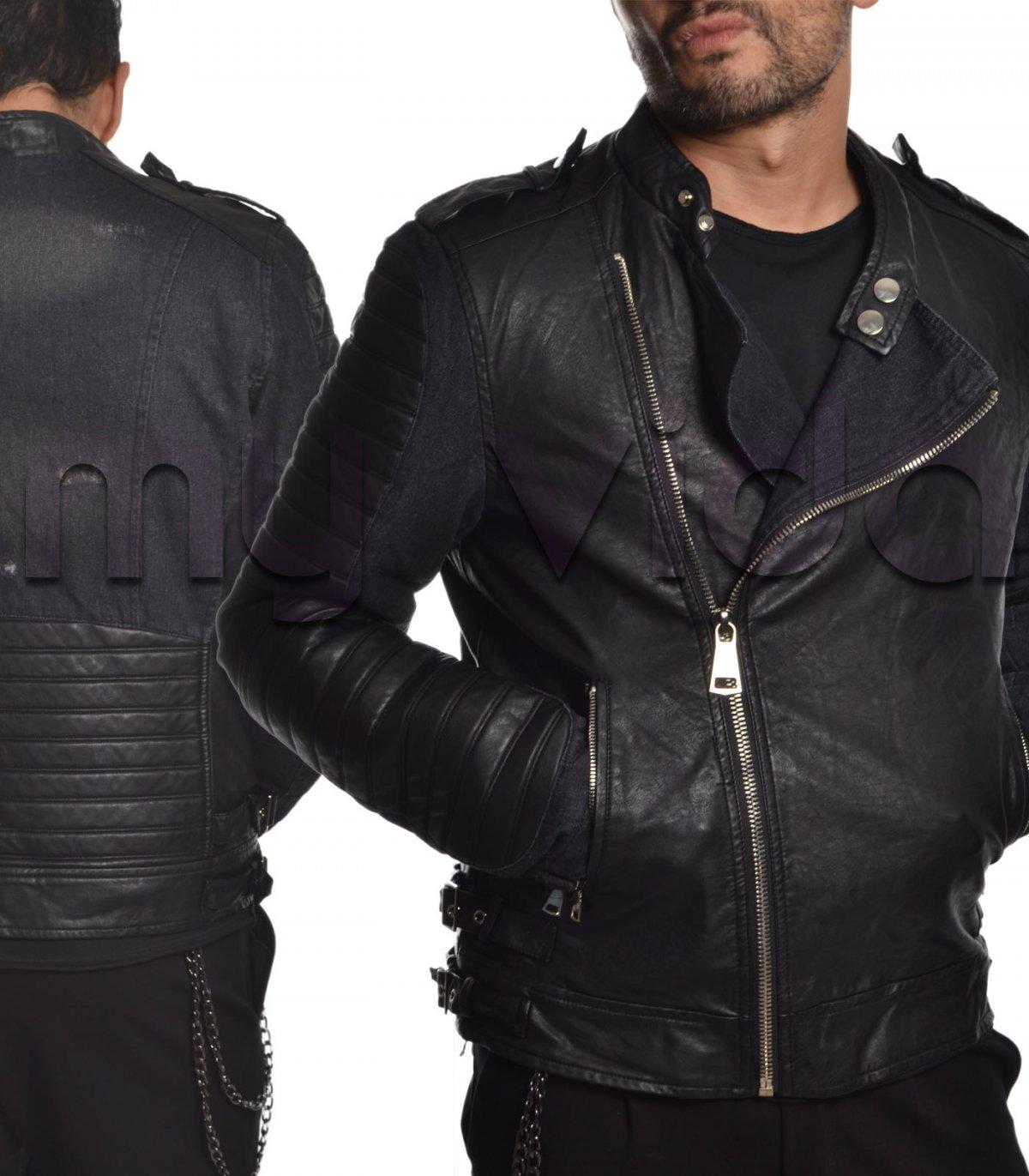 quality design 93f1e 7a190 Giacca giubbotto uomo ecopelle | My Vida