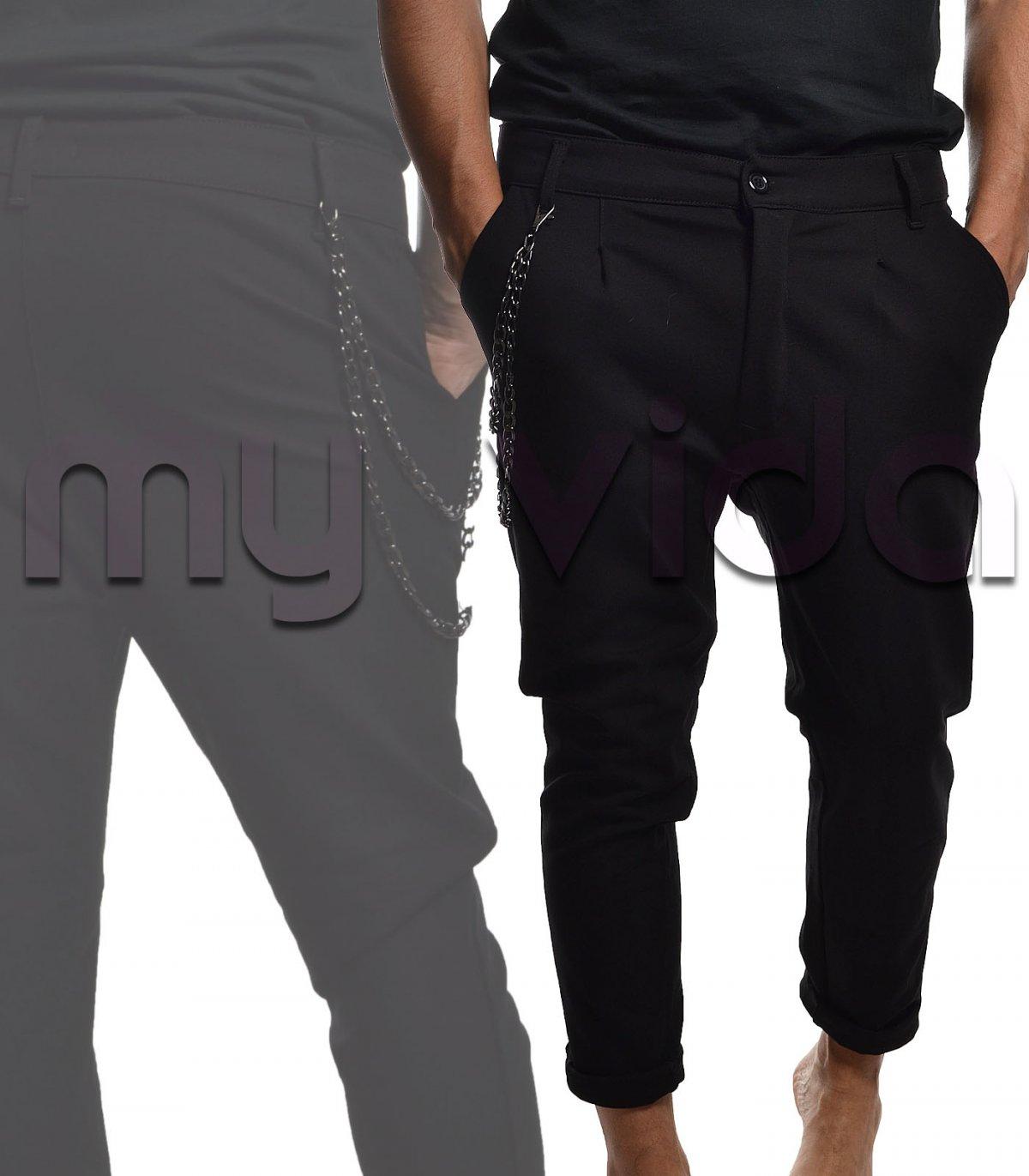 bc46d97a250211 Pantaloni uomo catena pence | My Vida
