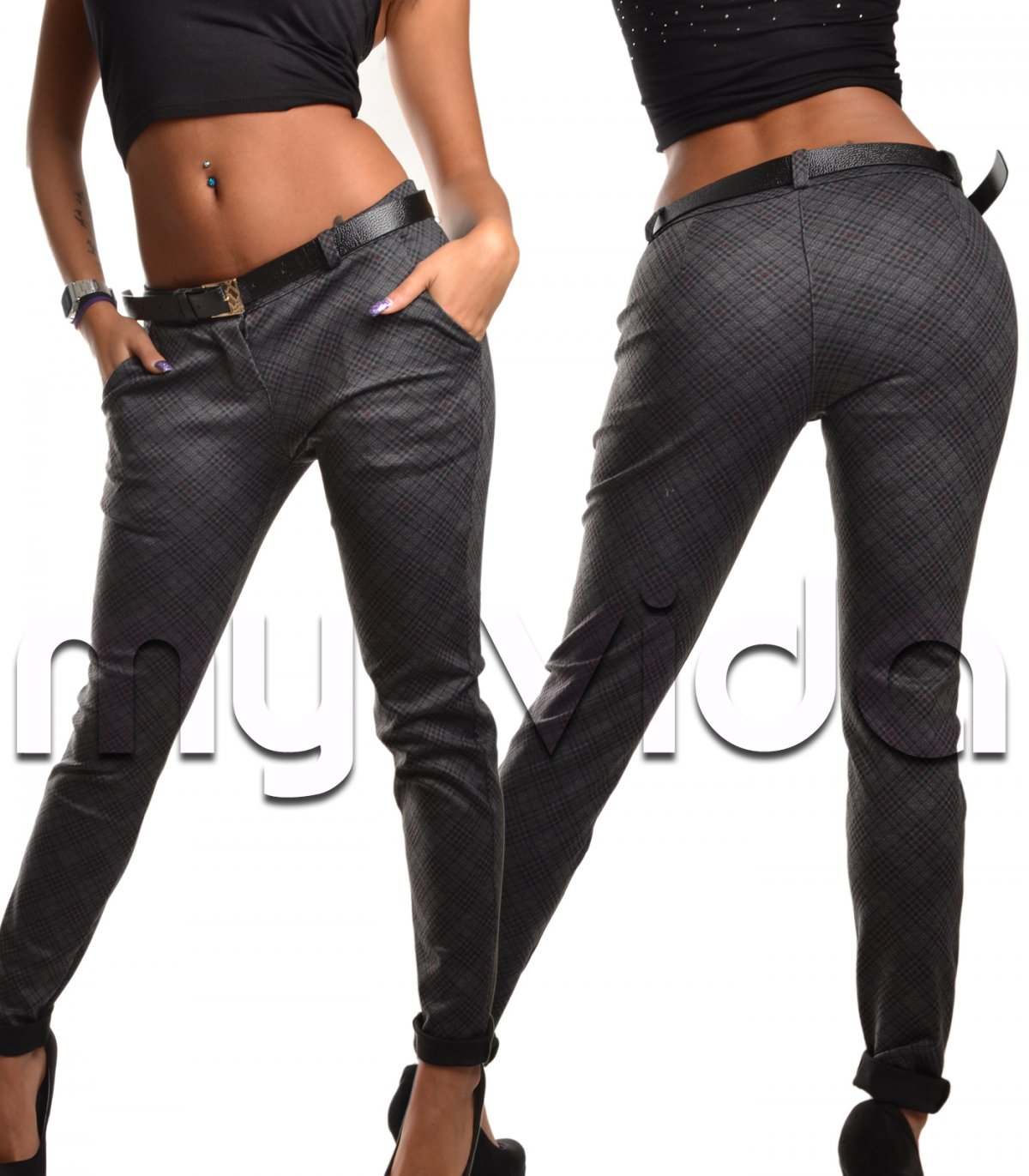 c09ca105fe86 Pantaloni eleganti donna slim fit