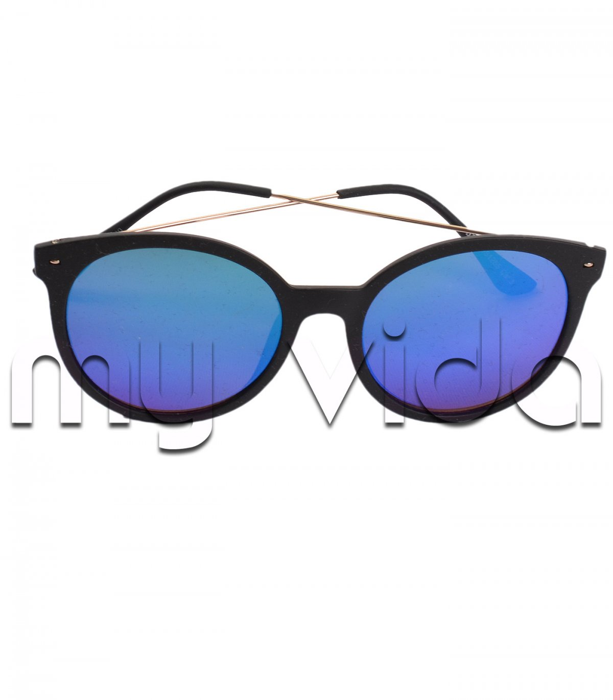 Occhiali donna lenti blu my vida - Occhiali specchio blu ...