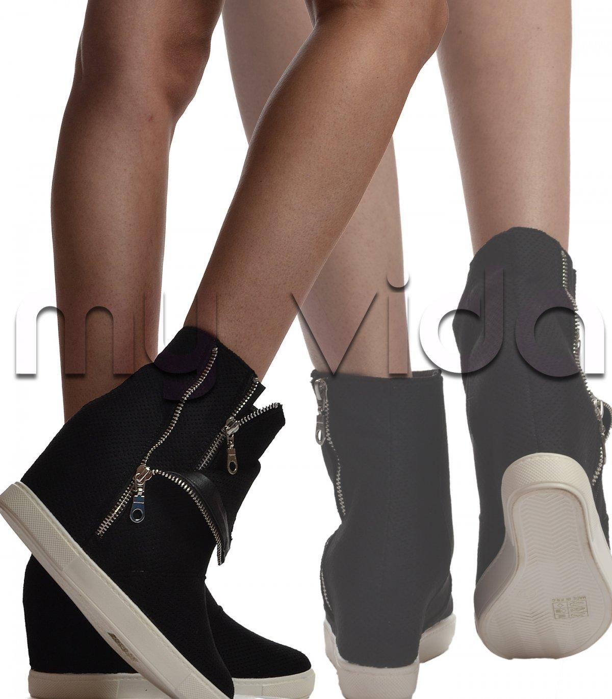 3ef8007393e7 Scarpe sportive donna sneakers zeppa | My Vida