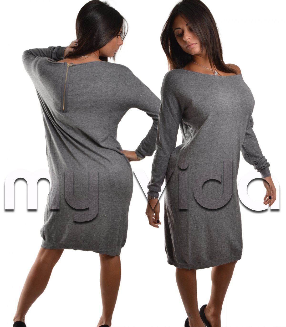 new style 68681 60c4f Woman's collection dress maglione donna girocollo casual ...