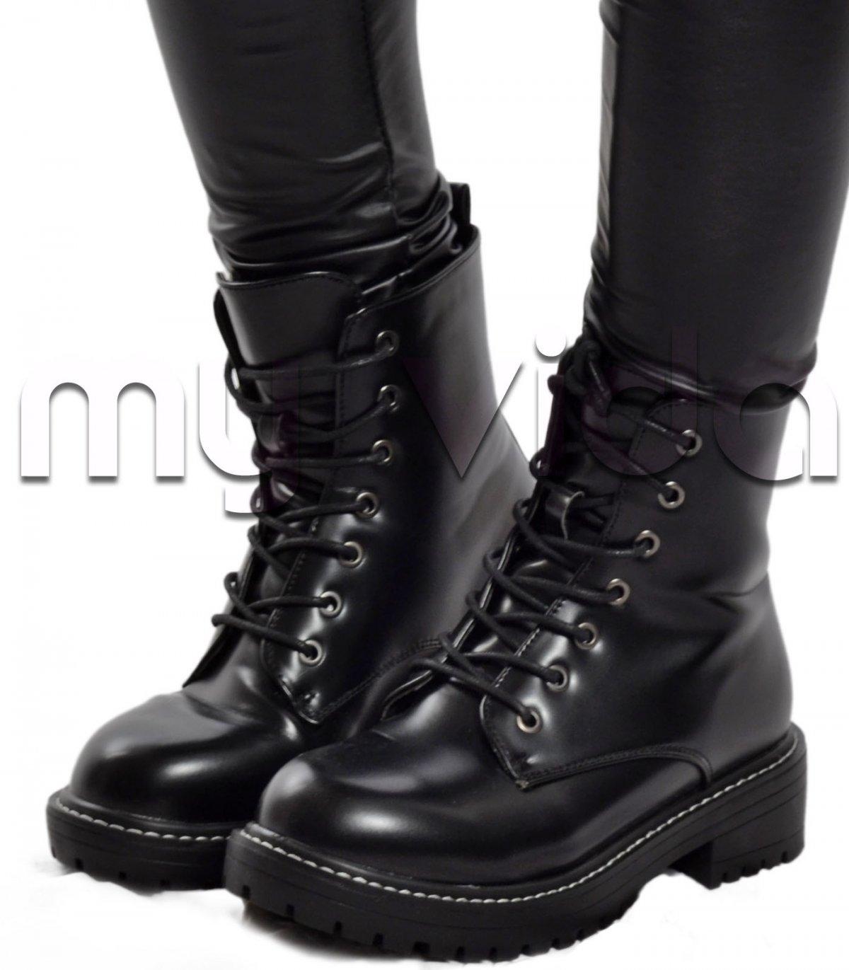 finest selection 89c74 da7d1 Scarpe donna stivaletti anfibi biker boots   My Vida